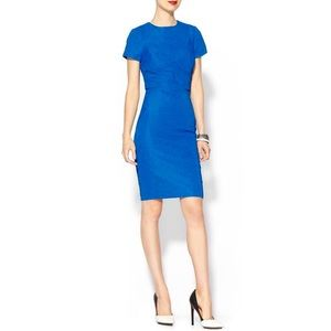 Ted Baker Nedeli Textured Cobalt Dress 4